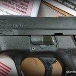 Smith & Wesson M&P 45 Shield Review -front slide serrations