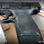 Smith & Wesson M&P 45 Shield Review - grip texture