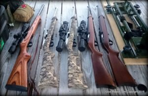 The 22lr Project - 22 Caliber Firearms Compared and Reviewed - first 5 rifles
