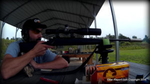 Thompson Center Compass rifle review - silencer