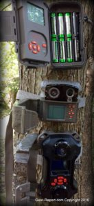 Digital Game Camera Review - New Trail Cameras for Deer Hunting Season from Wildgame Innovations - all 3 on tree open