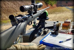 TC Compass hunting rifle review - scope