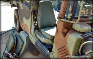 HMMWV seat upgrade: install highback seat