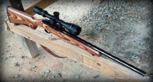 Ruger 10/22 Target Hammer Forged Bull Barrel Review -quartering