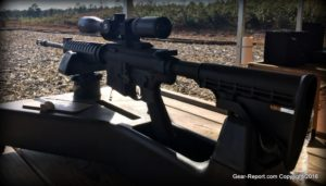 Smith & Wesson M&P10 .308 AR10 Review - M&P10 at the range