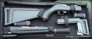 Ruger 10/22 Takedown Lite review - in bag