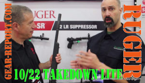Ruger 10/22 Takedown Lite review - booth video