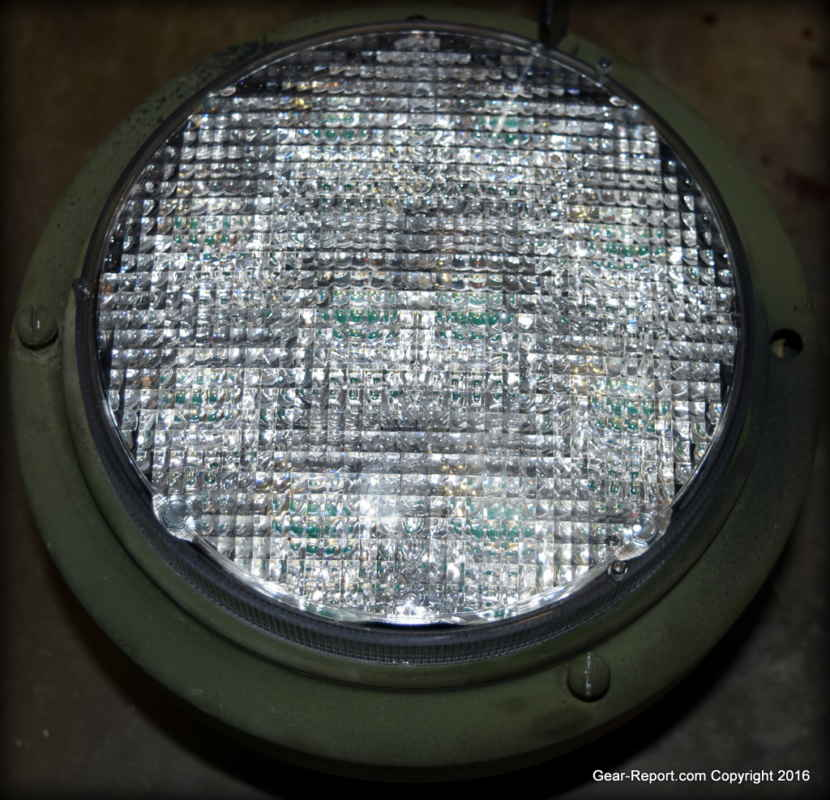 Humvee Or Military Vehicle Upgrade Hmmwv Led Headlights M35a2 Wiring Diagram Remove Three Screws Holding The Trim Ring Onto Headlight Housing Be Careful As Will Fall Out When Is Removed