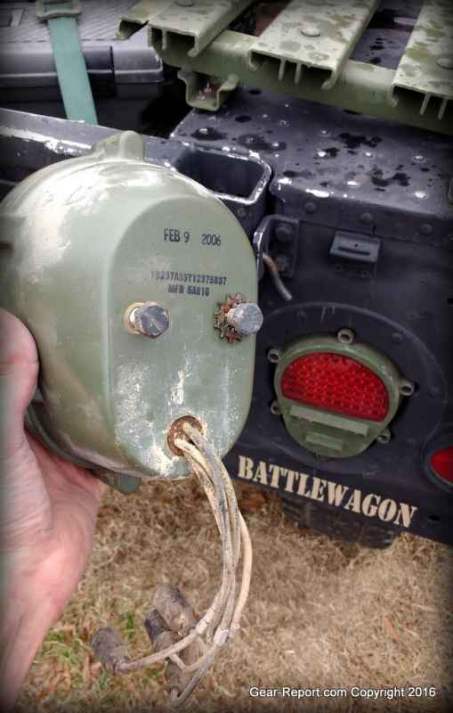 HMMWV Upgrades: How to Install HMMWV LED Tail Lights - Gear Report on