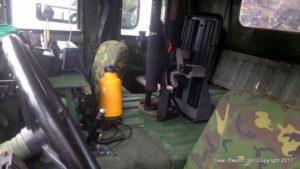 HMMWV gun rack Jeep gun rack locking gun rack Blac-Rac