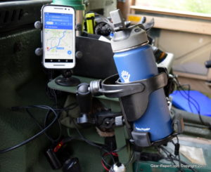 HMMWV upgrades - RAM Mounts cell phone holder Ram Mounts cup holder