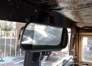 HMMWV Upgrade - backup camera monitor