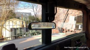 How to install review view mirror in HMMWV