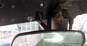 HMMWV upgrade Rear View mirror