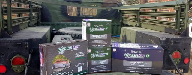 LizardSkin Sound Control and Ceramic Insulation for the Project Humvee Battlewagon Woo Hoo! Look what arrived today. LizardSkin sent the following for the Project Humvee Battlewagon (with Amazon links): Sound […]