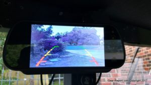 HMMWV upgrades - backup camera monitor