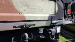 HMMWV upgrades - backup camera