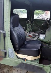 Cheap HMMWV seat upgrade Smitty Bilt Jeep seat