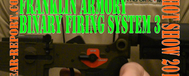 Franklin Armory – Binary Firing System III – SHOT Show 2017 JJ gets the info on the new BFSIII™, BINARY FIRING SYSTEM III™ TRIGGER. Subscribe now so you don't miss […]