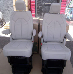 HMMWV seats - chrysler pacifica minivan seats in humvee