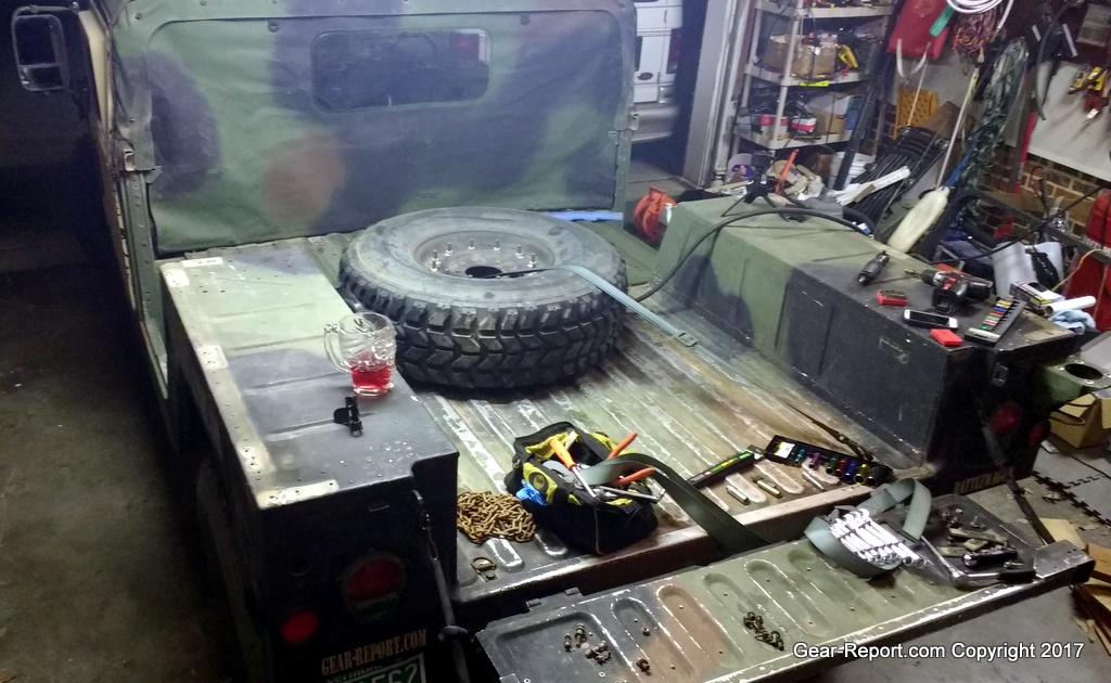 Humvee DIY Upgrade – How to Convert 2-Man HMMWV to 4-man