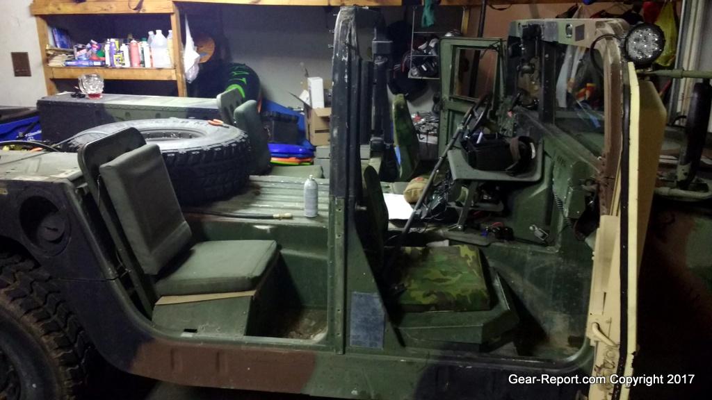 Humvee DIY Upgrade – How to Convert 2-Man HMMWV to 4-man HMMWV