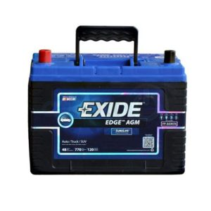 Best HMMWV Batteries - Exide 34 AGM