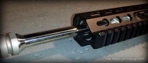 Mega Arms Wedge Lock Review - single screw installation