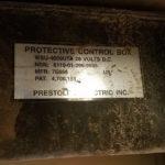 HMMWV Prestolite Protective Control Box