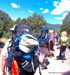 Best budget backpacking gear for Philmont - backpack