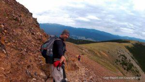 Best budget backpacking gear for Philmont - Cascade Tech carbon trekking poles