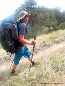 best backpacking gear for Philmont - MyTrailCo 70L backpack