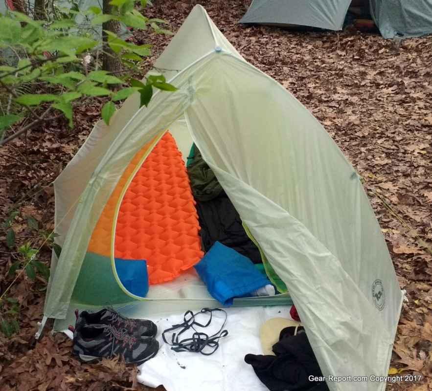R-manu0027s orange Outdoorsman lab ultralight sleeping pad on the left & Best Budget Backpacking Gear u2013 Philmont u2013 Boy Scouts