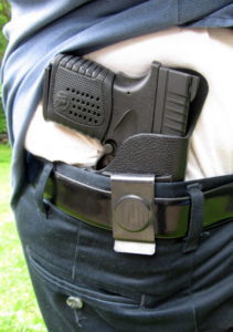 1791 Gunleather Review - Smooth Concealment Holster - Trigger is completely blocked by holster