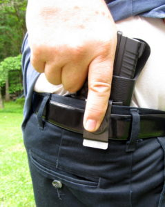 1791 Gunleather Review - Smooth Concealment Holster - Trigger is completely blocked