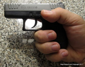 Diamondback DB380 Review: Micro-Compact Semi-Auto Pistol - fit in hand