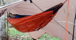 DIY Rookie takes on Ripstop by the Roll Hammock and UQ kits - SOS emergency blanket UnderQuilt