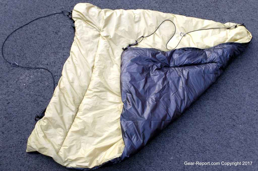 diy rookie takes on ripstop by the roll hammock and uq kits   finished uq with diy rookie takes on ripstop by the roll hammock and uq kits  rh   gear report