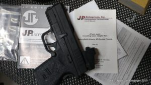 Springfield XDS 45 review - J Point optic installed