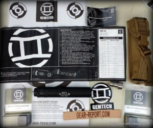 Gemtech GM-45 silencer review - unbox