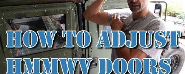 Humvee DIY – How To Adjust HMMWV Doors So, your HMMWV hard doors don't close right, huh? After installing surplus x-doors and x-door strikers on the Project Humvee Battlewagon I […]