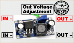 Humvee Upgrade - M35A2 Upgrade – How To Install Voltage Converter For Electronic Accessories - adjustable buck converter - connection diagram