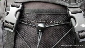 Snugpak Sleeka Force 35 Backpack Review - Repaired mesh