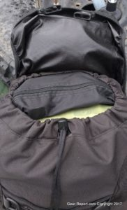 Snugpak Sleeka Force 35 Backpack Review - top load