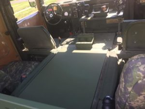 How to Make a HMMWV Interior Tunnel Cover