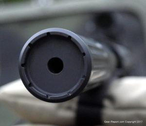 AMTAC suppressors 762 CQBm silencer review - end