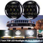 Hummer headlights, Humvee headlights, HMMWV headlights, LED headlights