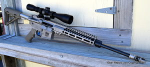 "WMD Guns - Range Test - LIGHTWEIGHT BEAST 5.56 AR-15 FORGED RIFLE 16"" Range Test Video Review - right side"
