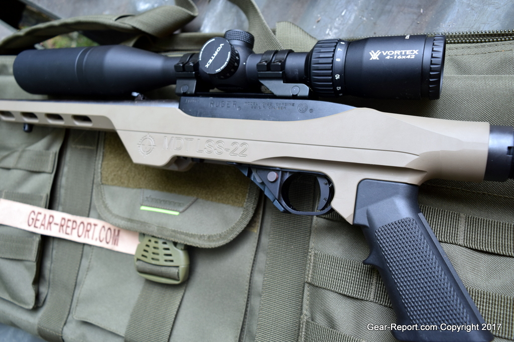 Modular Driven Technologies MDT LSS-22 Chassis for Ruger 10