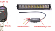 Hummer COP Lights install and DEMO DYI, LED Light Bar Remote Flash Strobe Controller 7 Modes 12-24V   Project supplies: eBay Strobe Controller $18: 400 watts per channel, 3 channels […]